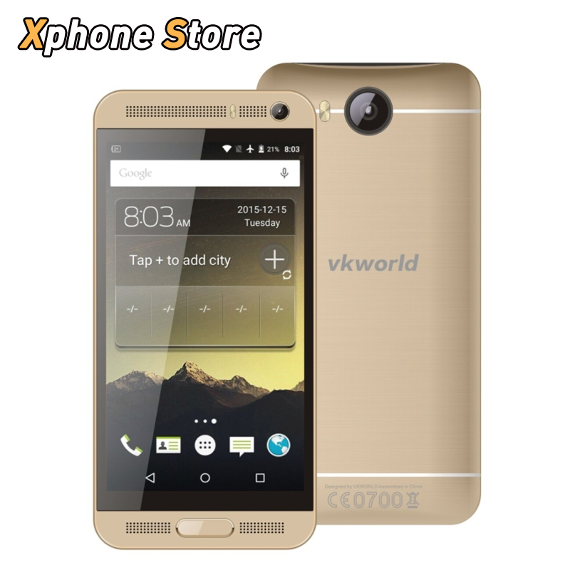 Original VKworld VK800X 5.0 inch 8GB ROM 1GB RAM Mobile Phone Android 5.1 MTK6580 Quad Core 1.3GHz Support Dual SIM Play Store(China (Mainland))