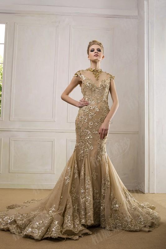 Popular Wedding Dresses Short GoldBuy Cheap Wedding Dresses Short