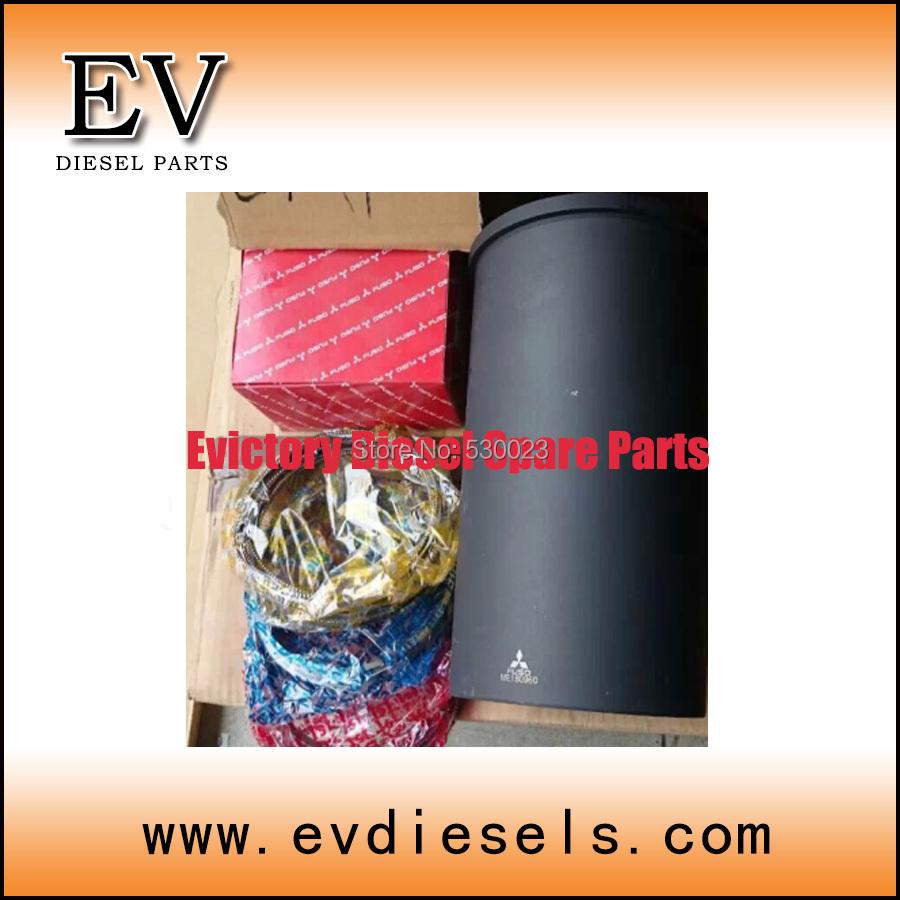 For Mitsubishi engine parts 6M70 pistonring and cylinder liner/sleeve(China (Mainland))
