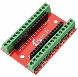 NANO IO Shield Expansion Board + Nano V3 Improved Version With Cable For Arduino
