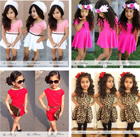 [해외]2015 new arrival girls dress European style fashion c..