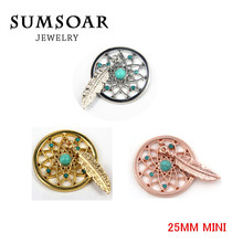 25mm Mini Small Dreamcatcher My Coin fit 27mm Coin Holder Frame Pendant 10pcs/lot(China (Mainland))