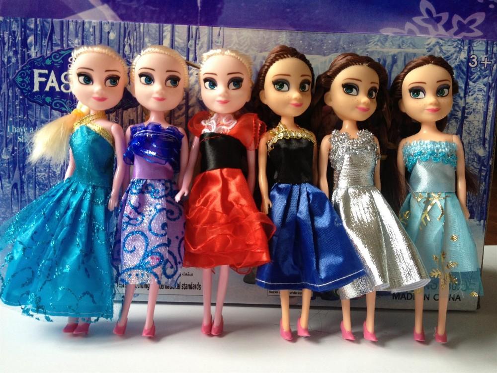 anna and elsa barbie