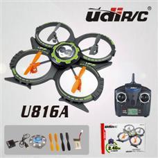 Udi U816A Mini Quadcopter quad 2.4G 4CH UFO RTF Upgraded u816 RC helicopter RC Aircraft 3D Flips drone(China (Mainland))