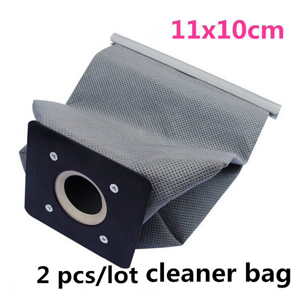 New 2pcs/lot 11x10cm Practical Vacuum Cleaner Bags Non Woven Bags Hepa Filter Dust Bags Cleaner Environmental Bags Accessories(China (Mainland))