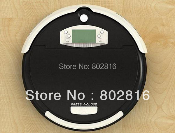 Free Shipping 4 In 1 Multifunctional Auto Cleaner Robot With LCD,Touch Button,Schedule,Dirt Detection, 0.7L Capacity Dustbin(China (Mainland))