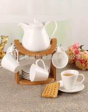 A Qiou style fashion creative gifts Coffee sheath temperature coffee pots Tea Set