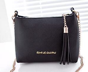 2015 Fashion Tassel Mini Small Shell bags Candy Chain Women's Leather Messenger bags Cross body Crossbody Shoulder bag Handbags()