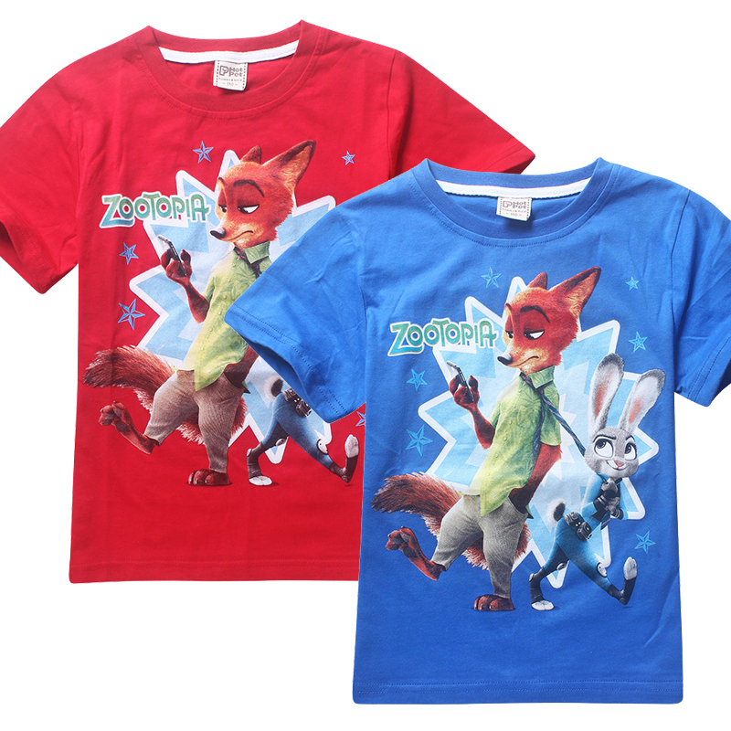 2016 New T shirt Boys CottonT-Shirts For Kids Baby Summer Cartoon Children's T Shirt Boys Clothes Roupas Infantis Menino(China (Mainland))