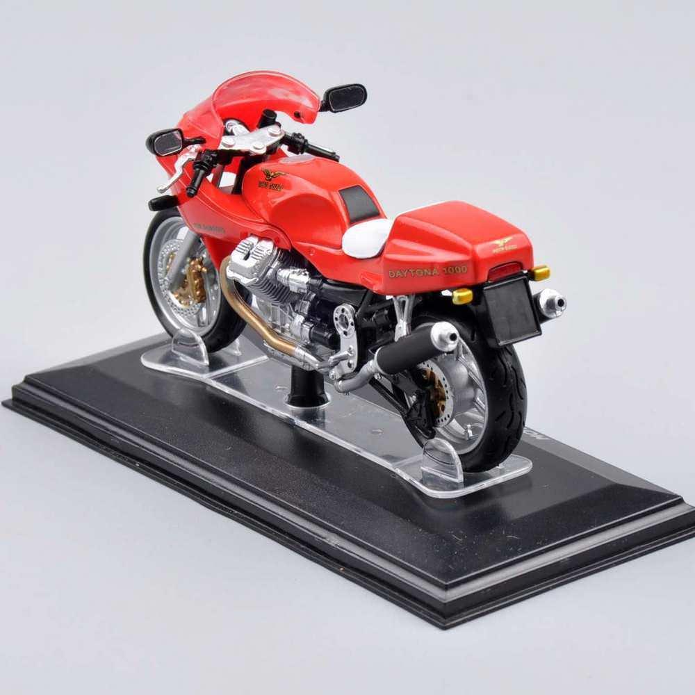 1/22 Scale Italeri Motorcycle Model Diecast Mini Motorcycle 1:22 Moto Guzzi Daytona 1000 Collectible Kids Toys Juguetes Gifts C(China (Mainland))