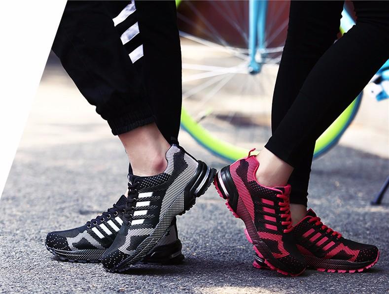 Высокое качество женщин обувают причинную Fly переплетения мода плоские женская обувь мужчины тренеры дышащей свет мягкий мужчины квартиры Женщины665