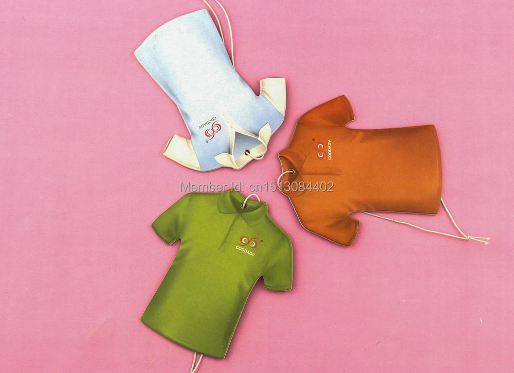 Goodadv brand original design shirt image hanging paper air freshener,12pcs/bag,3 bags free shipping 9 perfumes for option(China (Mainland))