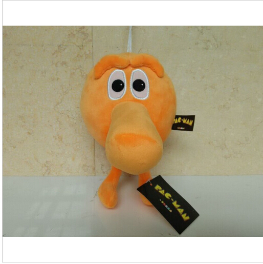 Free shipping  Q-Bert Qbert Stuffed Toy Doll 20CM Deluxe Q Bert Plush Toys for baby gift hot sale <br><br>Aliexpress