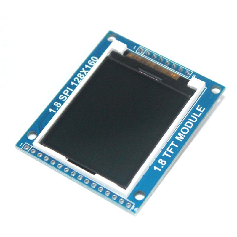 10x LCD Module Display PCB Adapter 1.8 inch Serial SPI TFT Power IC SD Socket 128X160 Hot New Arrival for Arduino 1.8'' 128x160(China (Mainland))