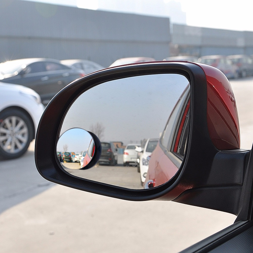 Auto 360 Wide Angle Round Convex Mirror Car Vehicle Side Blindspot Blind Spot Mirror Wide RearView Mirror Small Round Mirror(China (Mainland))
