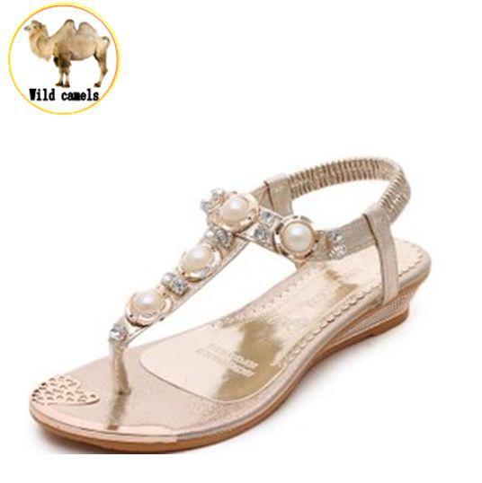 2015 Woman Sandals & Flip Flops fashion ladies sandals comfortable shoes woman's crystal decoration sandal summer shoes