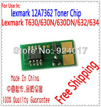 Compatible Printer Lexmark T632 T634 T632n T632dn T632dtn T634n T634dn T634dtn Toner Chip,For Lexmark T634 T632 T630 Toner Chip