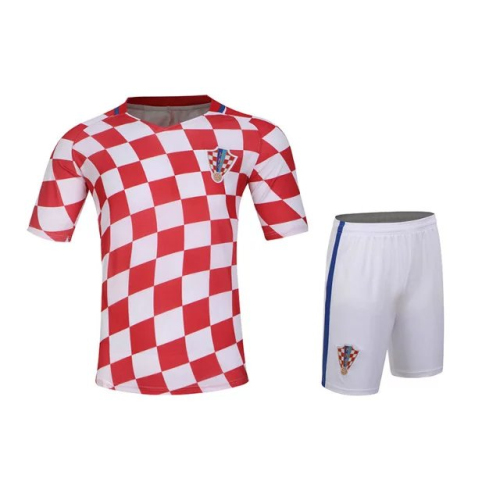 Boys and girls team 2016 football soccer clothes suit cool breathable short-sleeved sports shirt summer children's clothing U669(China (Mainland))