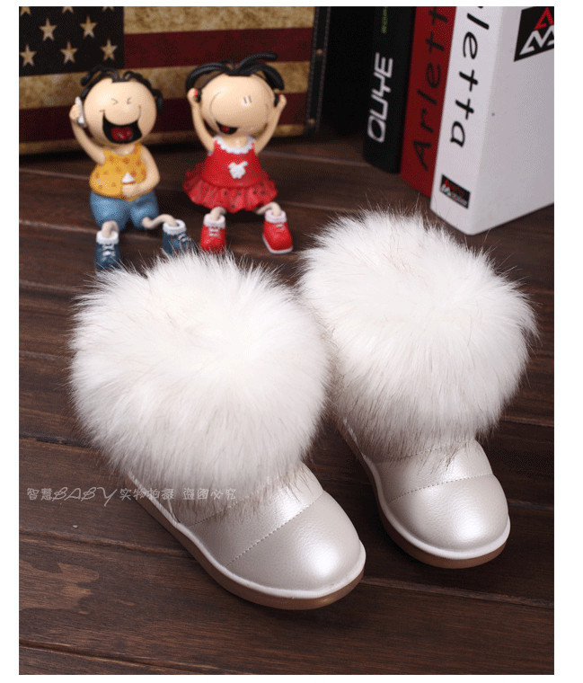Дешевые цены детей обувь моды девочек Сапоги зимние утепленные детские сапоги