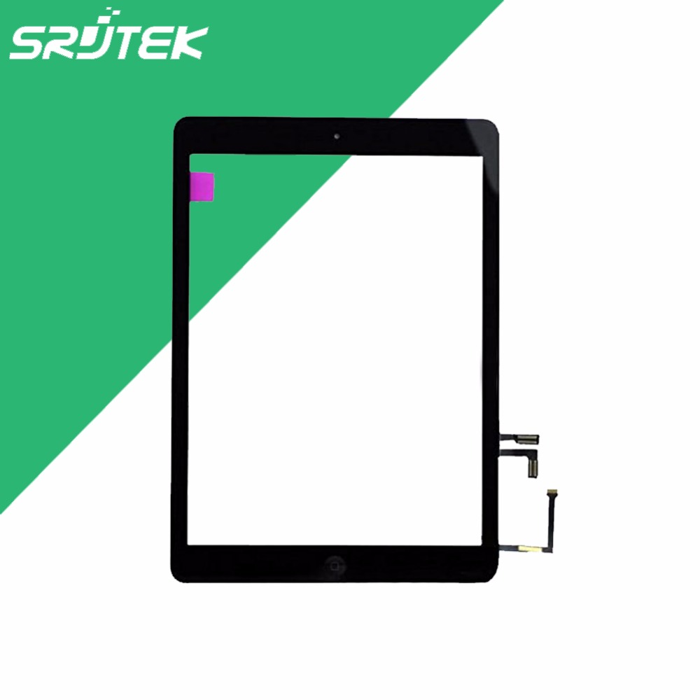 9.7'' for Apple iPad Air 5th A1474 A1475 Touch Screen Digitizer Glass Sensor Replacement Parts+Button Home(China (Mainland))