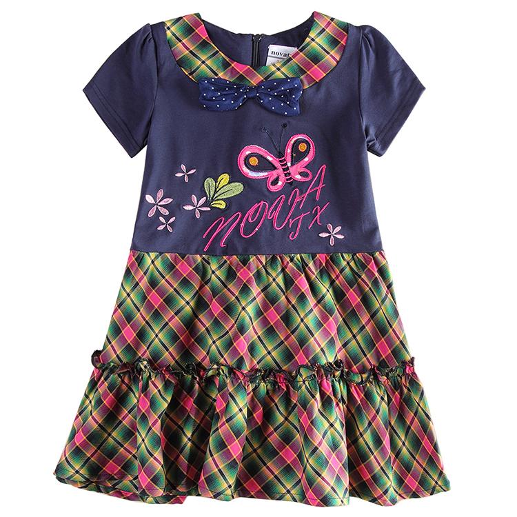 nova kids wear Brand baby girls dress summer Girl's Fashion Kids party princess girls' dresses child clothing