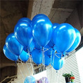 20pcs lot 10inch 1 5g Blue Latex Balloons Air Balls Inflatable Wedding Party Decoration Birthday Kid