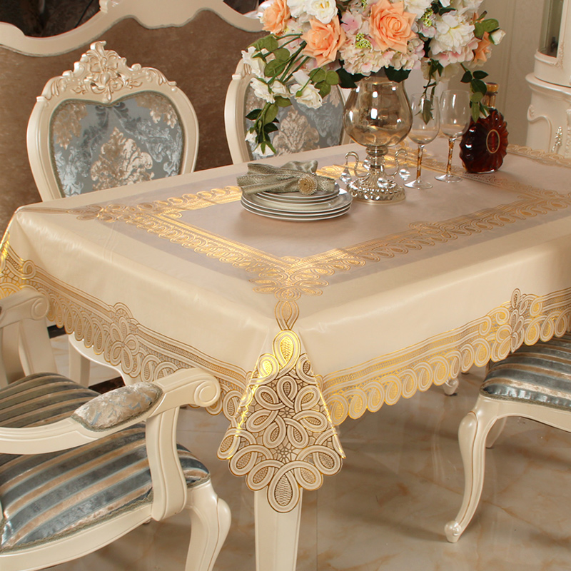 new tablecloth table cloth pvc waterproof plastic tablecloth european table oil proof disposable. Black Bedroom Furniture Sets. Home Design Ideas