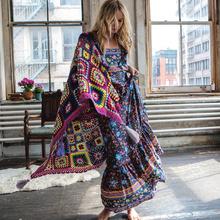 women dress summer 2016 long maxi dresses floral print cotton sexy robe backless boho hippie chic vestidos brand clothing(China (Mainland))