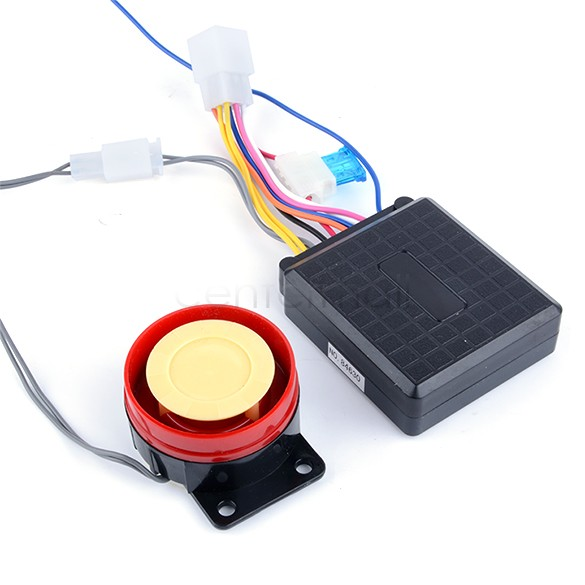 Promoion! Motorcycle Alarm System Anti-theft Security Alarm System Remote Control Engine Start 22(China (Mainland))