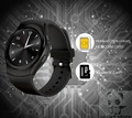 New circular WATCH IPS HD screen smart Watch HRM Real Heart rate smart Bluetooth Watch Compatible