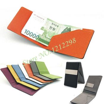 Новая южная корея зажимы для денег бумажник многофункциональный красочный ультра-тонких ...