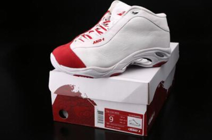Free shipping 100% authentic Tai Chi AND1 TAICHI MID 2016 new basketball shoes white red rubber breathable cotton size 11 13(China (Mainland))