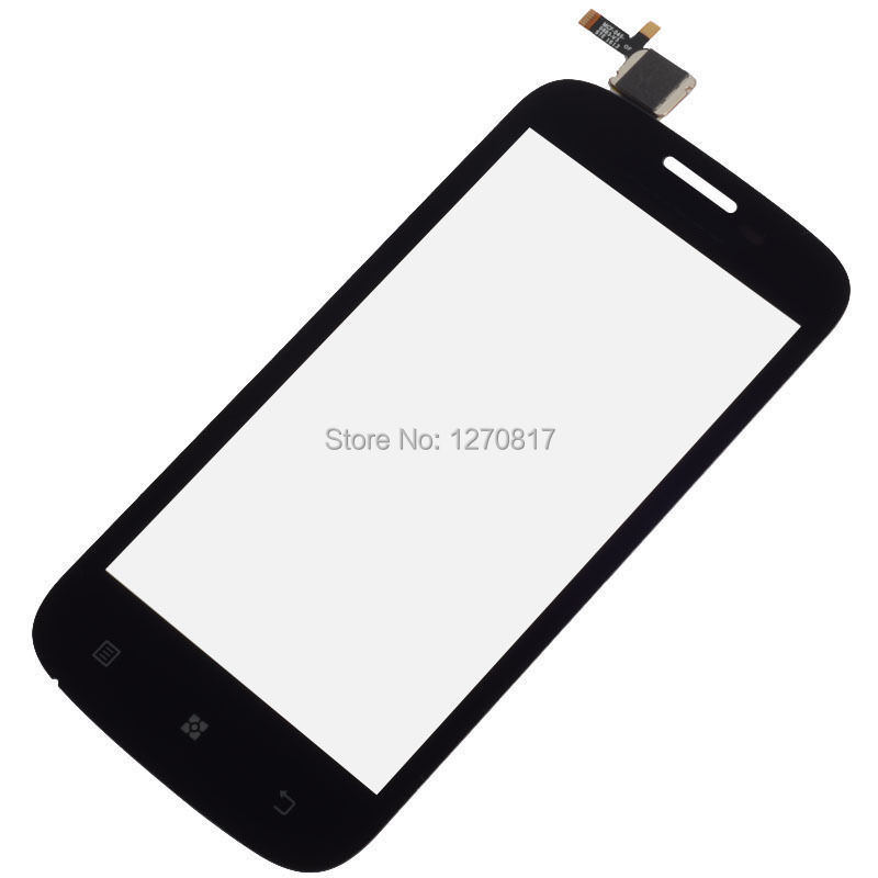 For Lenovo A760 Black Front Outter Touch Panel Touch Screen Digitizer Glass Lens Replacement Repairing Parts FREE Shipping(China (Mainland))