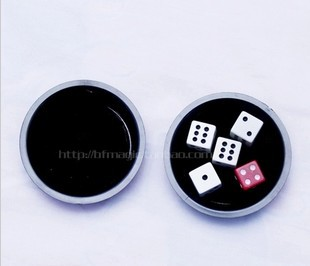 Free shipping 5sets Magical Dices Conjuring Game Trick Play Props Training Set - Super Fly Disc Dice magic tricks(China (Mainland))