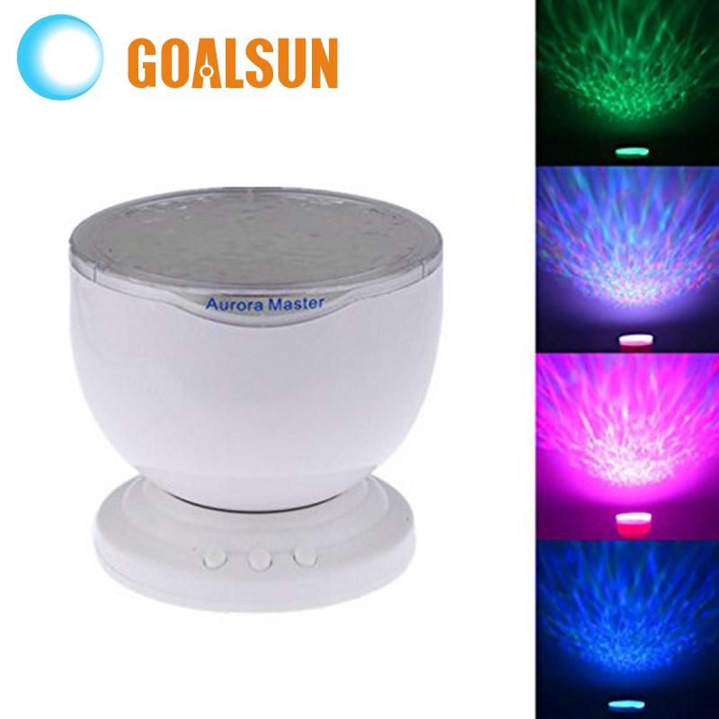 2016 Amazing Colorful 4 Kinds of Aurora Sky Romatic Gift Cosmos Sky Master Projector LED Starry Night Light Lamp(China (Mainland))