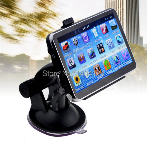 Hot-sell 4.3 inch Car GPS Navigation MTK 128MB/4GB + FM + Free latest Maps(China (Mainland))