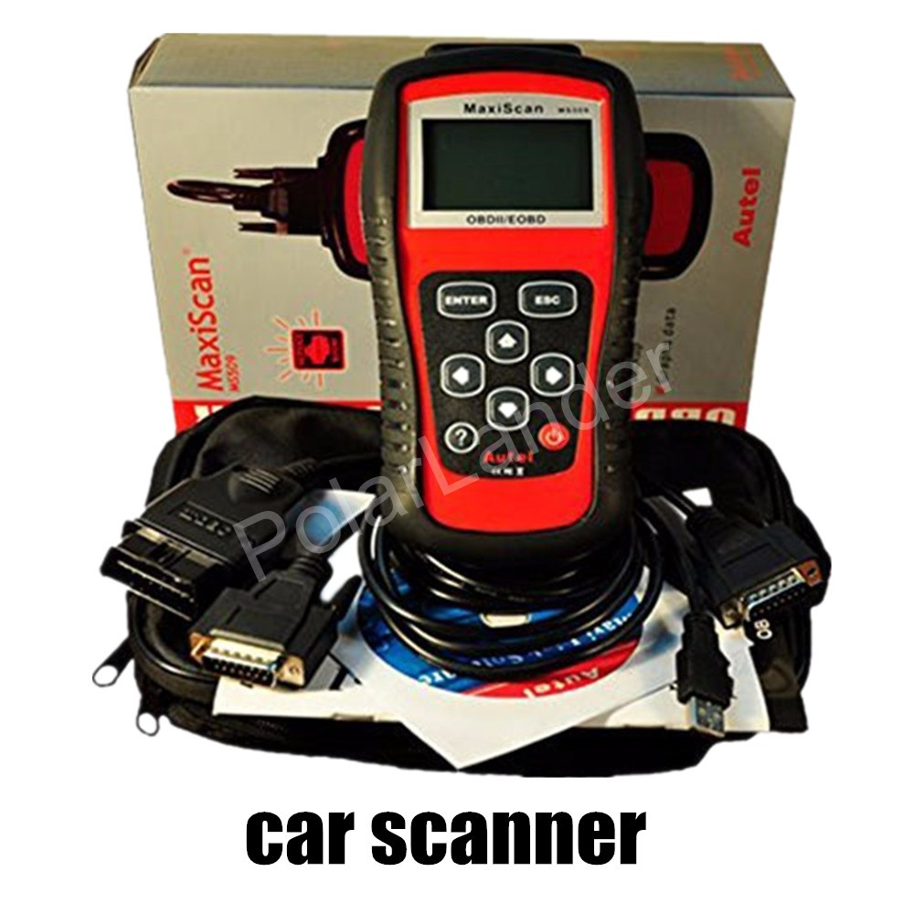 best price Autel MaxiScan MS509 OBDII / EOBD Auto Code Reader work for all cars vehicles car scanner MaxiScan MS509(China (Mainland))