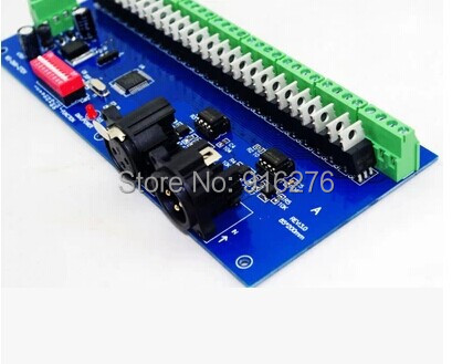 Free Shipping 27 channel Easy DMX RGB LED controller;27channel DMX512 decoder& driver, Newest , Wholesale(China (Mainland))