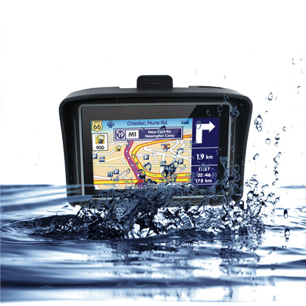 4.3 inch waterproof motorcycle GPS waterproof rating IPX7 1900mAh battery(China (Mainland))