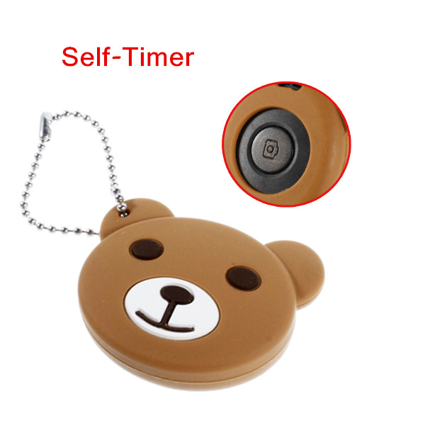 Bear Anti Lost Intelligent Finder Wireless Bluetooth 4.0 Remote Shutter Self-Timer for iPhone iPad Android 4.3 above(China (Mainland))