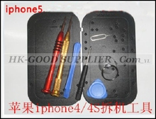 HK Post repair opening pry pentagonal and cross point screwdriver tools kit set with screw holes distribution for iPhone 5