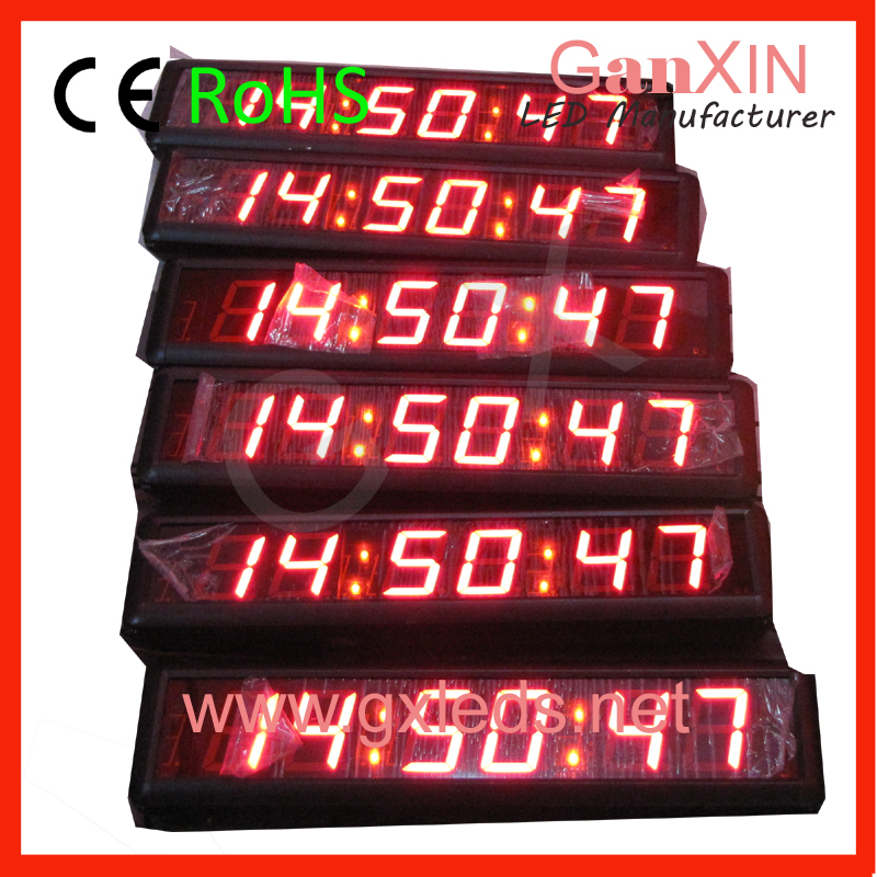 Fashion Digital Alarm Clock Temperature Red Desk Table Clocks(China (Mainland))