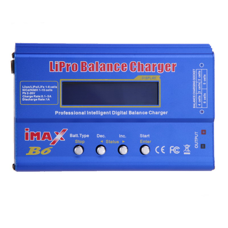 FW1S IMAX B6 MINI 80W Max Balance Charger Discharger For RC Helicopter Battery Charging Re-peak Mode for NIMH/NICD Batteries(China (Mainland))