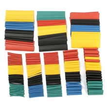 2015 Excellent Professional 328Pcs 8 Sizes Polyolefin 2:1 Halogen-Free Heat Shrink Tubing Tube Sleeving New