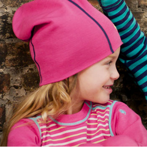 Spring 100% Merino wool casual beanies caps kids unisex baby hats for children outdoor skullies bonnet 12 STRIPE COLORS CHOICE(China (Mainland))