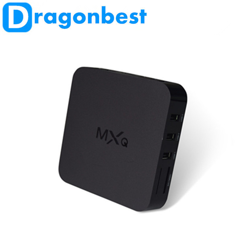 1pcs MXQ s805 1G/8G Quad core Android4.4 TV BOX media player Kodi and addons support online updated(China (Mainland))