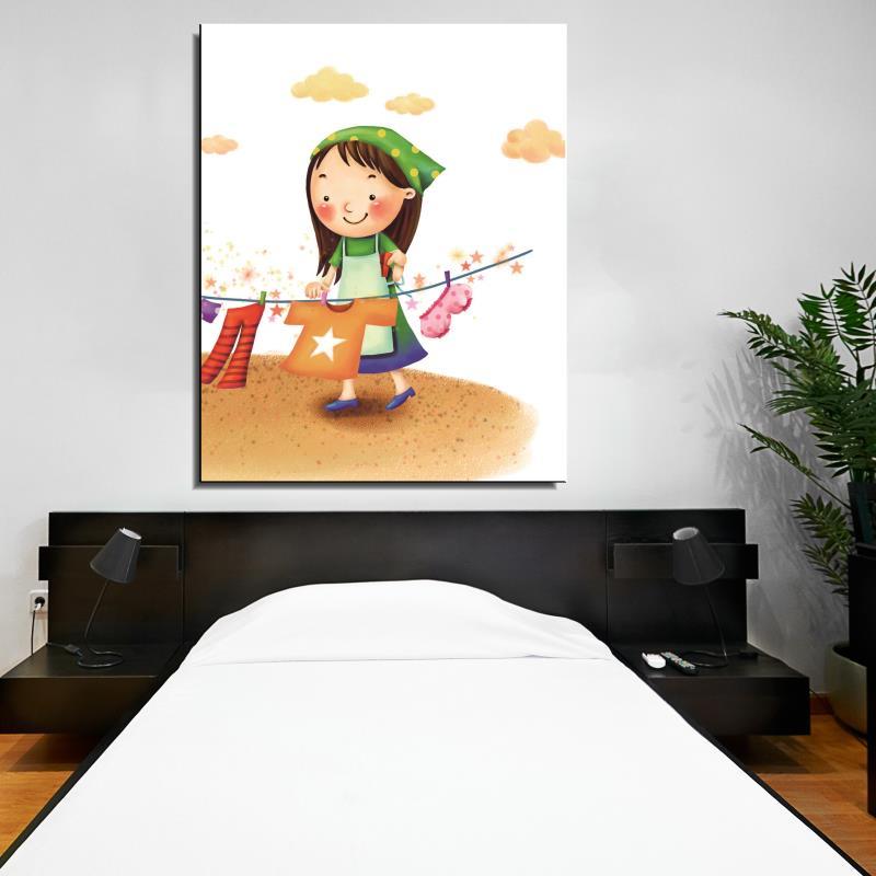 Frameless Modern Cartoon Chefs Canvas Prints Restaurant: Online Get Cheap Cartoon Clothes Pictures -Aliexpress.com