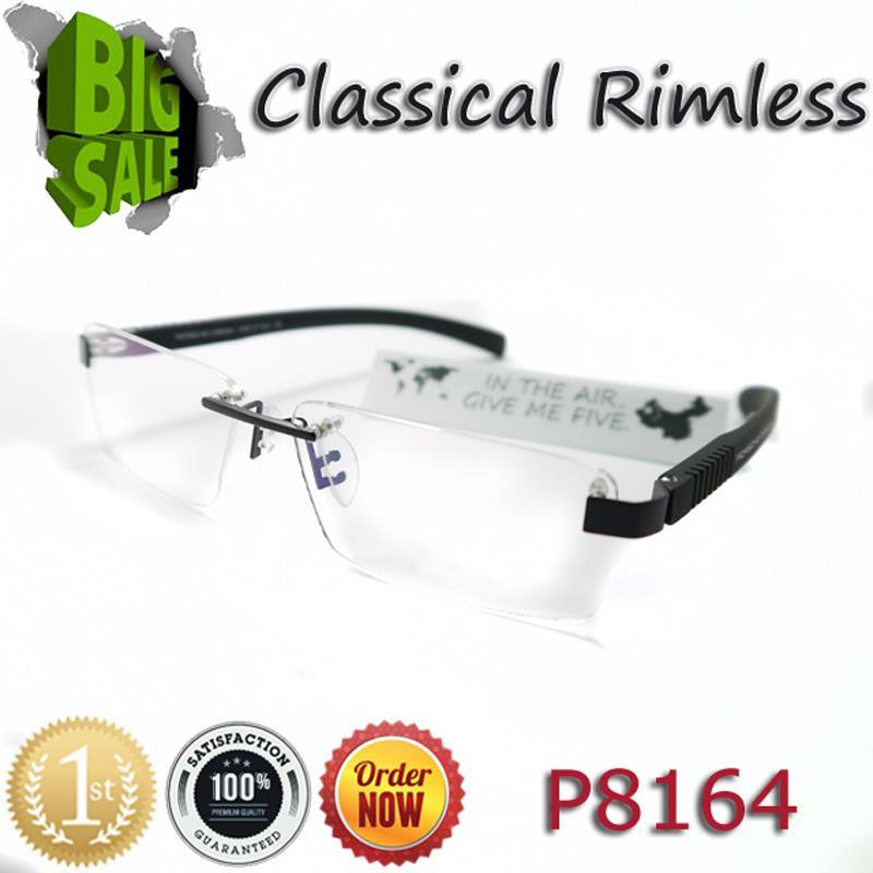 2015 Promotion Hot Sale Fashion Design Brand Alloy P8164 Myopia Eyeglasses Frame Optical Eye Glasses Men Eyewear Oculos De Grau(China (Mainland))