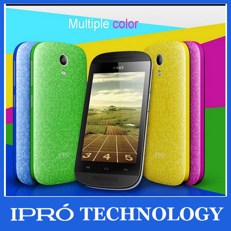 Brand New 2015 IPRO i9355 MTK6571 Original Smartphone celular Android 4.4 Mobile phone Dual Core With Russian Spanish Portuguese(China (Mainland))