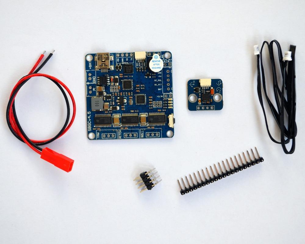 3 aixs Brushless Gimbal Controller W/ IMU BaseCam Electronics Latest Version V2.4b7 8bit Firmware BGC V4.5 DRV8313 Driver<br><br>Aliexpress